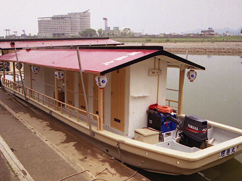 The special restroom boat